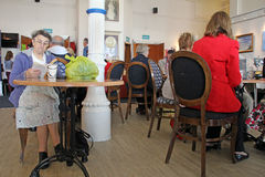 Community hall social club Stock Image