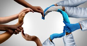 Free Community Health Care Workers Royalty Free Stock Photos - 182480238