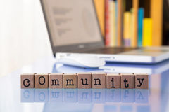 Community internet networks Royalty Free Stock Photo