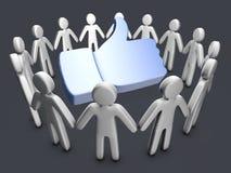 Community Like Stock Image