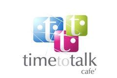 Community Logo Design. Logo Design for Community Activities, Cafe', coffee shop, Internet Cafe, chat websites Stock Image