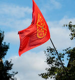 Community of Navarre flag. Spain Stock Images