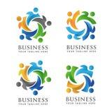 community people logo. Royalty Free Stock Image