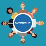 Community people society social Royalty Free Stock Photography