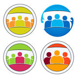 Community of people together. Stock Photography