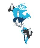 Community people of the world. Vector illustration design Stock Photography