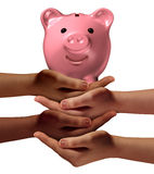 Community Savings Stock Photo