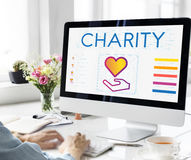 Community Share Charity Donation Concept Royalty Free Stock Image