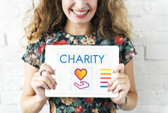 Community Share Charity Donation Concept stock photo