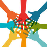 Community and social. Design, vector illustration eps 10 Royalty Free Stock Photo