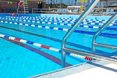 Community Swimming Pool Stock Images