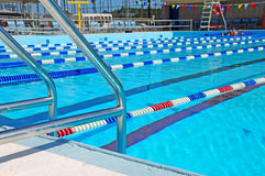 Community Swimming Pool Royalty Free Stock Photos
