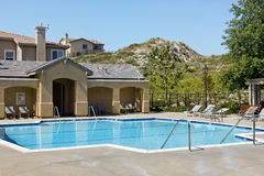 Community Swimming Pool Stock Image