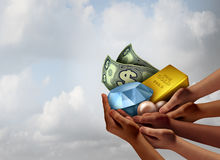 Community Wealth And Prosperity Royalty Free Stock Image