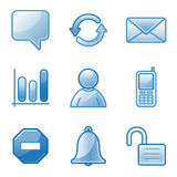 Community web icons Stock Image