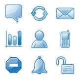 Community web icons Stock Image