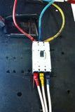 Commutateur électrique photos libres de droits
