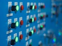 commutateur électrique de panneau image stock