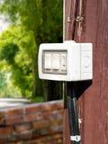 Commutateur électrique extérieur Photo stock