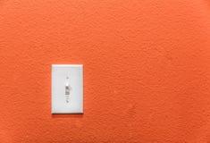 Commutateur électrique sur le mur Image stock