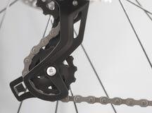 Commutateur arrière de vitesse de vélo de montagne Photo libre de droits