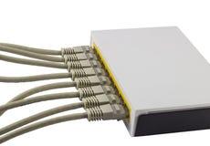 Commutateur de réseau photo stock