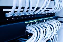 Commutateur de réseau Images libres de droits