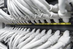 Commutateur de Smart de gigabit de réseau photographie stock