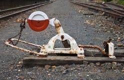 Commutateur de train Photos libres de droits