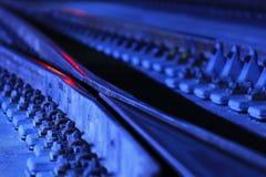 Commutateur ferroviaire image libre de droits