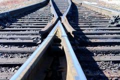 Commutateur ferroviaire Photographie stock