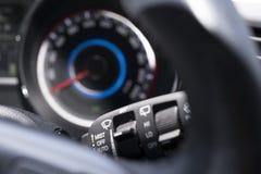 Commutateur fonctionnant d'essuie-glace de confort d'automobile Images libres de droits