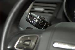 Commutatore di illuminazione dell'automobile Immagini Stock Libere da Diritti