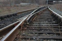Commutatore ferroviario Fotografie Stock Libere da Diritti