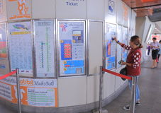 Commuter Bangkok Thailand Stock Photos