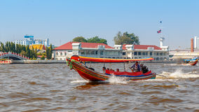 Commuter Boat in Bangkok, Thailand Royalty Free Stock Photography