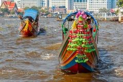 Commuter Boat in Bangkok, Thailand Royalty Free Stock Photo