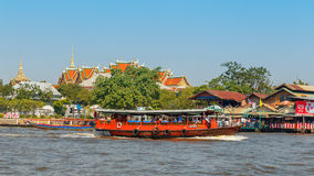 Commuter Boat in Bangkok, Thailand Stock Photography