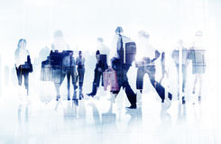 Commuter Business People Cityscape Corporate Travel Concept Stock Photos