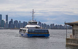 Commuter Ferry in Vancouver Stock Photography