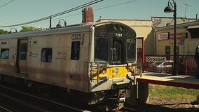 Commuter metro (3 of 4) stock video footage