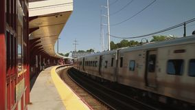 Commuter metro (1 of 4) stock video footage