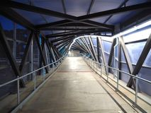 Commuter Overpass (night) Stock Image