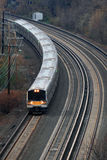 Commuter railroad Stock Image