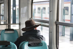 Commuter, raw Royalty Free Stock Photos