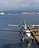 Commuter seaplanes Stock Images