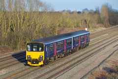 Commuter service train Stock Photos