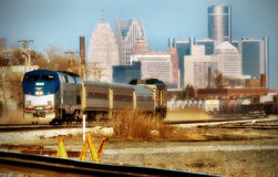 Commuter train Royalty Free Stock Images