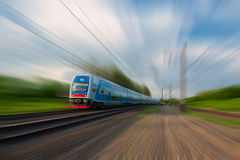 Commuter train Stock Photos