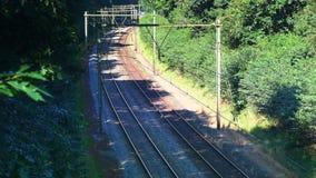 Commuter train of the Dutch Railways